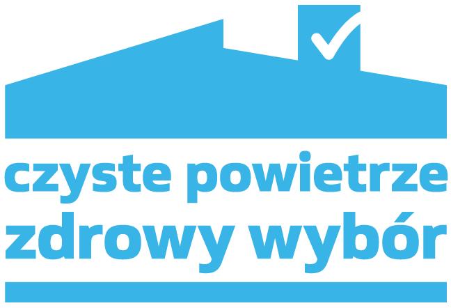 Logo programu Czyste powietrze - zdrowy wybór